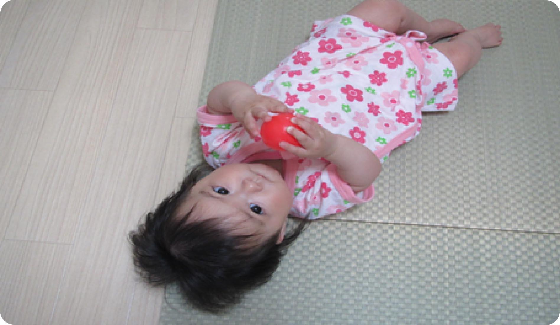 >赤ちゃんに優しい畳