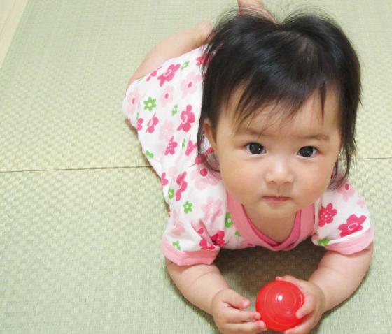 赤ちゃんと安心して遊べる